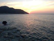 Santa marta colombia. Beach sea sunshine Stock Images