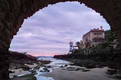 Santa Marta Lighthouse in Cascais Royalty Free Stock Photos