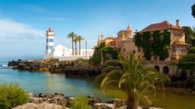 Santa Marta lighthouse Royalty Free Stock Images