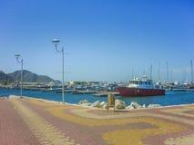 Santa Marta Port Imágenes de archivo libres de regalías