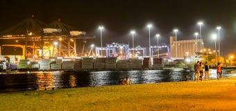Santa Marta port obrazy royalty free