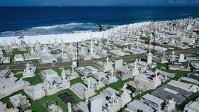 Santa María Magdalena de Pazzis Cemetery by the Sea in San Juan. Santa María Magdalena de Pazzis Cemetery by the Sea in Old San Juan, Puerto Rico stock photos
