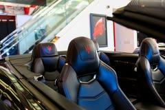 SANTA mesy CA, CZERWIEC, - 17, 2017: Evan Paul Motorcars lata jubel: Otwarty dom Zdjęcia Royalty Free