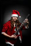 Santa-metal stock image
