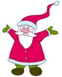 Santa mignonne Photo libre de droits