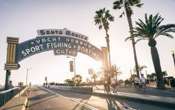Santa Monica Lizenzfreies Stockfoto