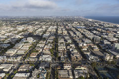 Santa Monica Aerial Royalty Free Stock Photo