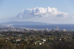 Santa Monica Bay California Royalty Free Stock Photo
