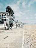 Santa Monica Beach Images stock