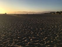 Santa Monica Beach fotografia stock