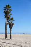 Santa Monica Beach Royaltyfria Bilder