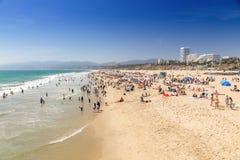 Santa Monica Beach Image libre de droits