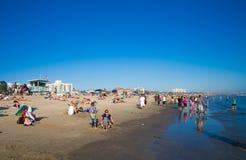 Santa Monica Beach Fotos de archivo libres de regalías