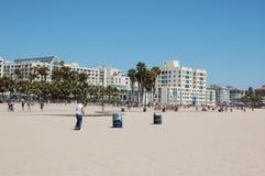 Santa Monica Beach Photographie stock