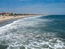 Santa Monica Beach Images stock