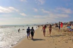 Santa Monica Beach Image stock