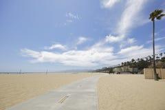 Santa Monica Beach Photo stock