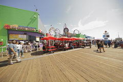 Santa Monica Beach Imagenes de archivo