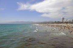 Santa Monica Beach Royalty Free Stock Photos