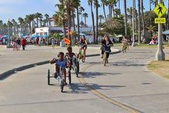 Santa Monica Beach Royalty Free Stock Photography