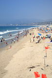Santa Monica Beach Royalty Free Stock Photography