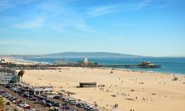 Santa Monica Beach Royalty Free Stock Image