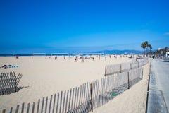 Santa Monica Beach During The Day Imagenes de archivo