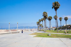 Santa Monica Beach During The Day Stock Image