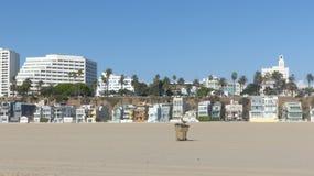 Santa Monica Beach Front Royaltyfri Bild