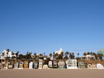 Santa Monica Beach Life Stock Photography