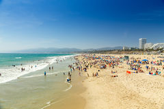 Santa Monica Beach Royalty Free Stock Image