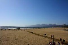 Santa Monica Beach stockfotos