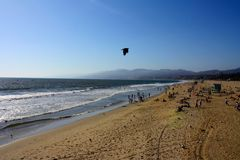 Santa Monica Beach stockbild