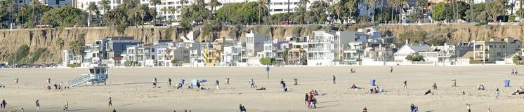 Santa monica beach stock photos