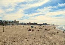 The santa monica beach Royalty Free Stock Image