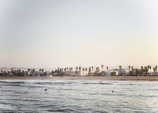 Santa Monica beach Stock Image
