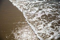Santa Monica Beach. Water Wave Stock Images