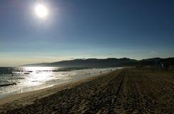 Santa Monica CA royaltyfria bilder