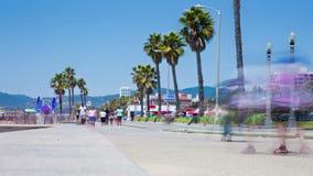 Santa Monica Californië stock footage
