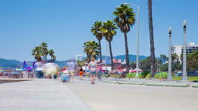 Santa Monica california stock footage