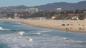 Santa Monica, California video d archivio