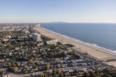 Santa Monica California Aerial Stock Photography