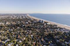 Santa Monica California Aerial View Royalty Free Stock Image