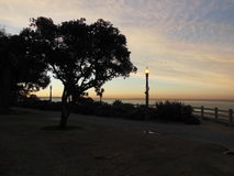 Sunrise in Santa Monica. An early morning in Santa Monica, California, USA Stock Photos