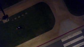 Santa Monica, CALIFORNIA por noche almacen de metraje de vídeo