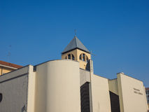 Santa Monica Church Turin Stock Photo