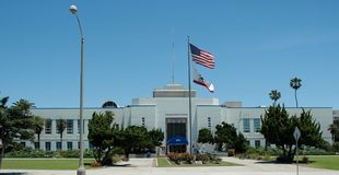 Santa Monica City Hall Stock Photos