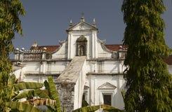 Santa Monica Convent. Old Goa, India Stock Photos