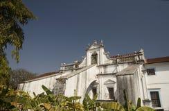 Santa Monica Convent. Old Goa, India Royalty Free Stock Photography