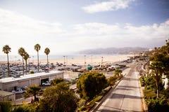 Santa Monica Highway Foto de Stock